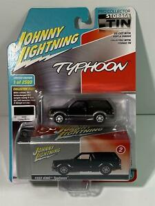 1992 GMC Typhoon Lamp Black Collector Tin 1:64 Johnny Lightning JLCT003A