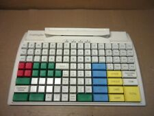 PrehKeyTec Epos Pos Keyboard WHITE PS/2 PS2 With MSR MC128WX C1N07M3 TL-545