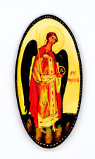 Russian Handpainted Brooches of Religous Saints_brooch_07
