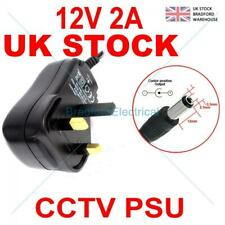 AC/DC 12Volt 2AMP 5.5*2.1mm POWER SUPPLY ADAPTOR Indoor CCTV CAMERA System PSU