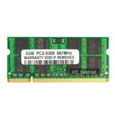 New 2GB PC2-5300 DDR2 667MHZ Sodimm PC5300 200Pin Laptop Memory Ram Sodimm
