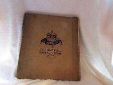 Coronation Souvenir Book 1937 Book- GREAT PHOTO'S (Beckles G. - 1937)