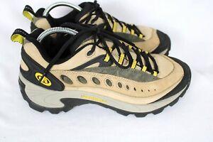 Merrell Pulse Birch Tan Yellow Trail Hiking Shoes Sz 10