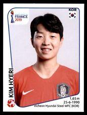 Panini Women's World Cup 2019-República de Corea Kim Hyeri Nº 48