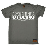 Cycling Cycling Cardio funny top Birthday tee T SHIRT T-SHIRT