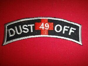 Korea War Patch US 49th Medical Detachment DUSTOFF Arc