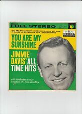 jimmie davis - all time hits - decca ep 72654 - stereo 1959 new ref#21679a