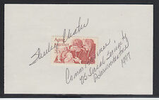 Shirley Chater, Social Security Commissioner, signed 20c Aging Together stamp
