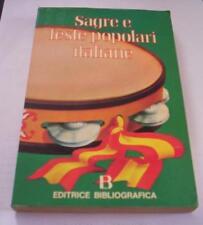 SAGRE E FESTE POPOLARI ITALIANE 1978 Giorgio Riva