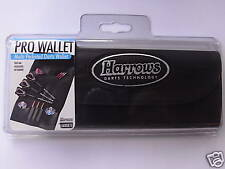 HARROWS Pro Wallet-Multi Pocketed Black Fold over leatherette-FREE UK POSTAGE