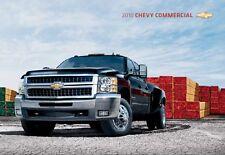2010 Chevrolet Comm Silverado Van Truck 44-page Original Dealer Sales Brochure