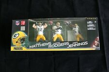 2011 McFarlane Green Bay Packers 3 Pack with Rodgers, Jennings, and Matthews