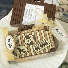 96 Vintage Travel Suitcase Luggage Tag Wedding Bridal Shower Party Gift Favors