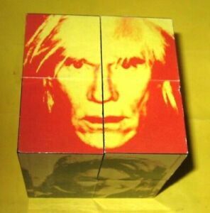 Andy Warhol Art Cube Puzzle