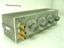 GENTLY USED GENERAL RADIO 1433-K (1433K) DECADE RESISTOR - TESTED