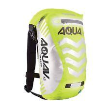 Oxford Aqua V12 Waterproof Backpack Rucksack Bike Cycle OL953 Fluorescent Yellow