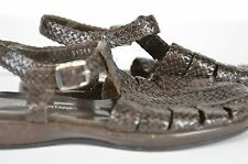 Pons Quintana Women's Braided Sandals Very Cute Size 38 Made In Spain Size 8 US