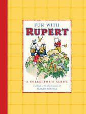 Fun With Rupert Collector's Album with Alfred Bestall illustration ~ Hardback