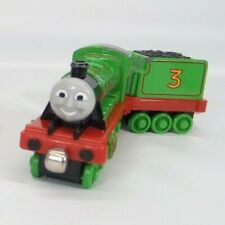 Thomas & Friends Learning Curve Take Along diecast train #3 Henry w tender 2002