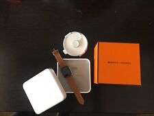 Hermès Apple Watch New w/ Box 44 mm Stainless Steel Case with Fauve Barenia...