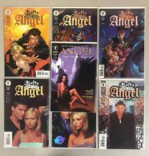 Buffy The Vampire Slayer: Angel 1-3 (Lot of 7 w/ Photo Variant Covers Dark Horse