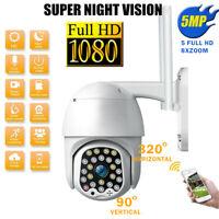 1080P HD Outdoor Waterproof WiFi PTZ Security IP IR Camera Night Vision 23 LEDs