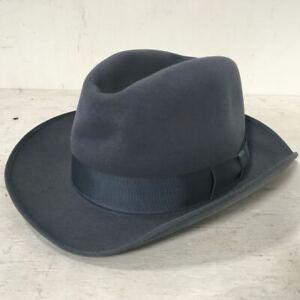 Vintage Royal Stetson 'Bantam' Mens Hat - Trilby Fedora - Small Size - 50cm
