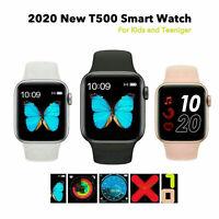 T500 Smart Watch Android iPhone iOS-Telefon Bluetooth Waterproof Fitness ` +