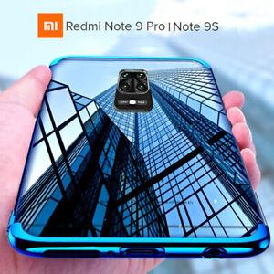 Cover For Xiaomi Redmi Note 9 Pro/9s Case Electro Film Tempered Glass