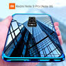 COVER per Xiaomi Redmi Note 9 Pro /9s CUSTODIA ELECTRO PELLICOLA VETRO TEMPERATO