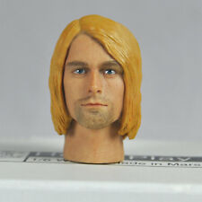 "1/6 scale Head Sculpt Nirvana Kurt Cobain 12"" ACTION FIGURE TOYS HEAD"