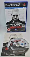 Tom Clancy's Splinter Cell: Double Agent for Sony PlayStation 2 PS2 PAL TESTED