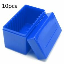 Plastic 10 Coin Capacity Holder Slab Storage Box Case For PCCB NGC High Quality