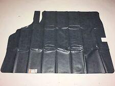1971-1972 Chevelle Trunk Mat Liner Vinyl W/ Felt Herringbone Chevrolet Gray