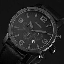 INFANTRY Herren Quarzuhr Armbanduhr Uhr Datum Chronograph groß Herrenarmbanduhr