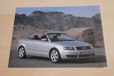 SV0844) Audi A4 Cabrio Pressefoto 03/2002