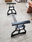 Adjustable Industrial Cast Iron Table Legs - Vintage Machine Age Steampunk Style