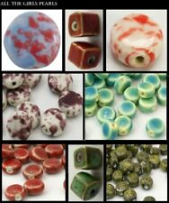 Antiqued Ceramic, Clay & Porcelain Round Jewellery Making Beads