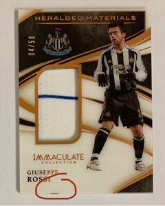 2020/21 Panini Immaculate - Giuseppe Rossi Card - Newcastle #32/99 (PLEASE READ)