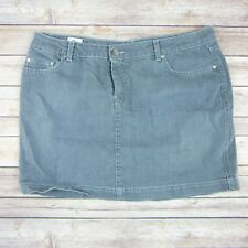 LACOSTE Women's Gray Denim Mini Skirt Sz 46