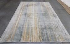 "Light Blue 6' 7"" x 9' 2"" slightly damaged rug for reduced price VTG172-2110-6"
