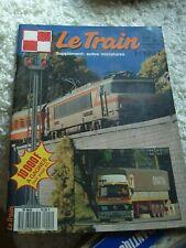 Le train N°1 supplément autos miniatures 1987