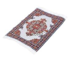 Handmade Embroidered Dolls House Miniature Carpet Rug Mat Floor Coverings B#