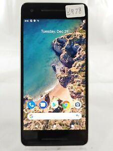 Google Pixel 2 G011A128GB AT&T T-Mobile GSM Unlocked Smartphone Cell White U978