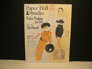 """Paper Doll Studio Magazine, """"Fads & Fashions of the 50's"""", 2011, Issue #99"""