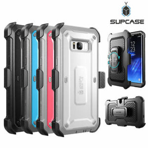 For Samsung Galaxy S8 / S8+ / S8 Active, Genuine SUPCASE Full-Body Case Cover US