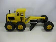 Vintage Tonka Pressed Steel Road Grader Toy Yellow 16180