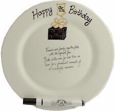95th Birthday Gift Signature Plate (Rd) (Box)