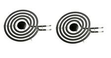 "(2) 6"" Surface Burner Element for Whirlpool Kitchenaid Range Stove 660532"