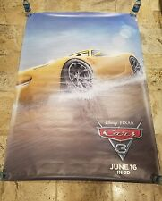 """""""CARS 3"""" Bus Shelter Poster 4' x 6'"""